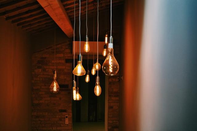 modern-style light bulbs